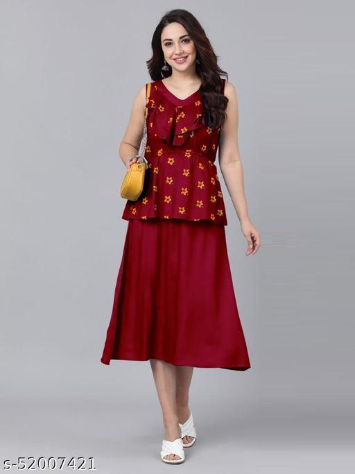SOLID DESIGN COTI DRESS
