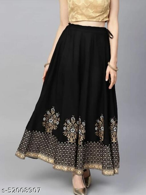 Aagyeyi Superior Women Ethnic Skirts
