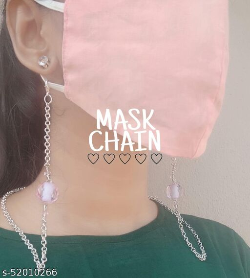 Trendy and Gorgeous Facemask chain || Set of 1