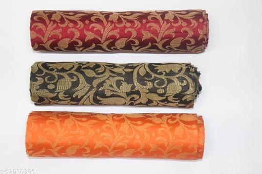 Pagazo Jacquard Silk Blouse Piece