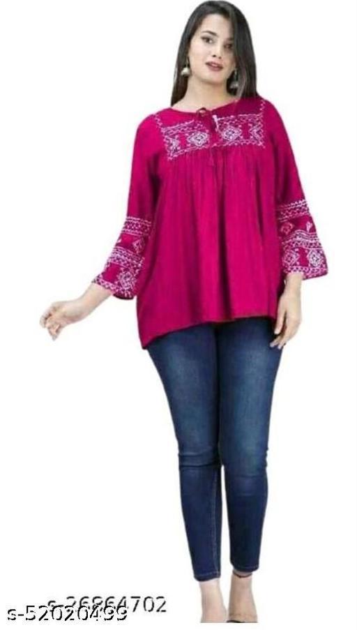 pink embroidery kurta
