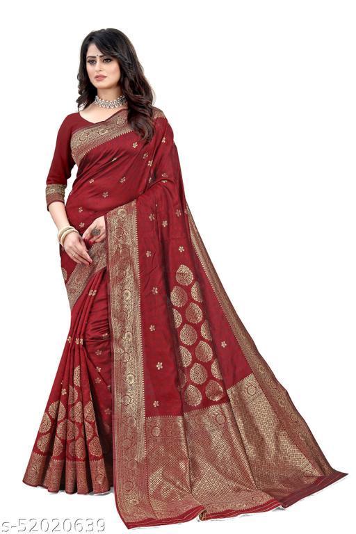 Banarasi Silk Weaving Saree with Blouse