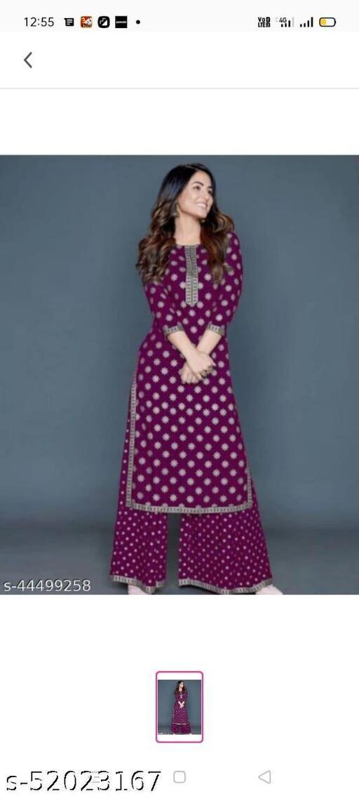 Aagam Sensational Women Kurta Sets