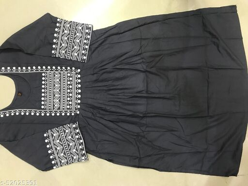 Womens Stylesh fashion kurti with Embroidery