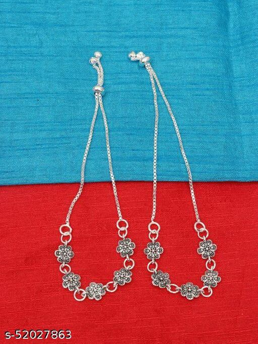 Latest Style Traditional Payal Ethnic Anklets for Women and Girls
