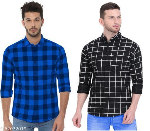 Rehan Men's Premium Cotton Casual Full Sleeve Shirt