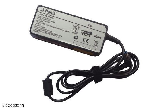 HANQ 19.5V 3.34A 65W adapter for HP 14-AM004UR (Included Power Cord)