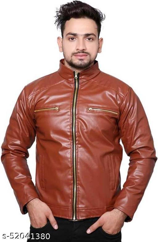 Maroon double chain jacket-Ri-9