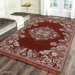 Trendy Jacquard Weaved Chenille Living room Carpet/ Dhurries