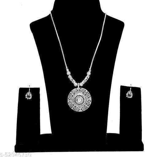 Stylish silver Oxidized Jewellery Sets