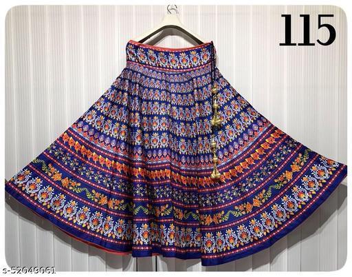 Trendy Voguish Women Ethnic Skirts