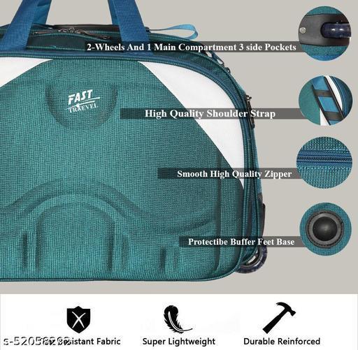 Expandable the super premium heavy duty 60 L polyester lightweight luggage bag Duffel Strolly Bag Purple Duffel trolley