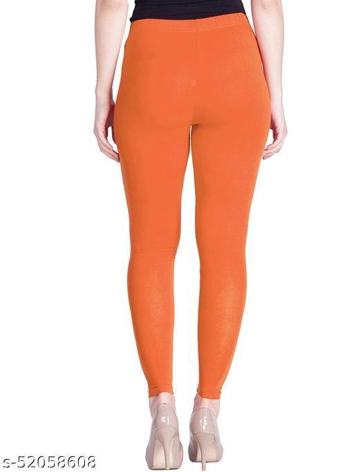 women leggings (orange) color