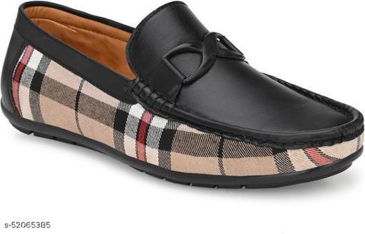 Peclo Black Loafer shoes for Mens Loafers For Men(1059)