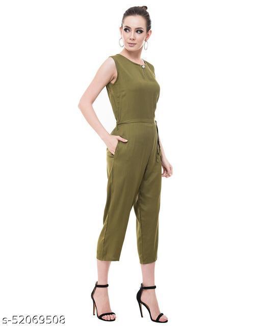 Menasu Women Rayon Stylish Maxi Jumpsuit