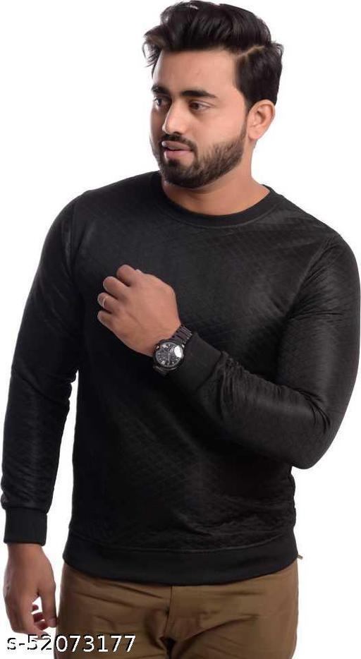 A4S Man's Cotton & Polyester Crew Neck Sweatshirt