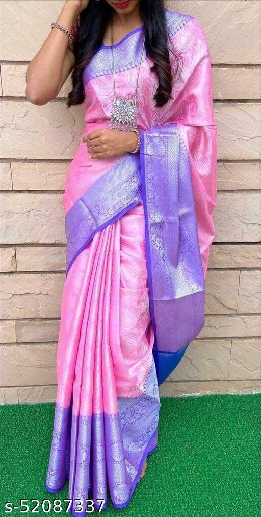 Women's Silk Saree With Un-Stitched Blouse
