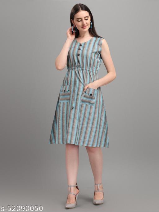 designer western lining dress