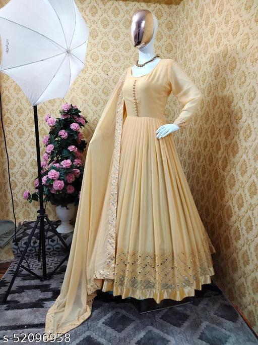 Ekta Enterprise Fancy Latest Gown
