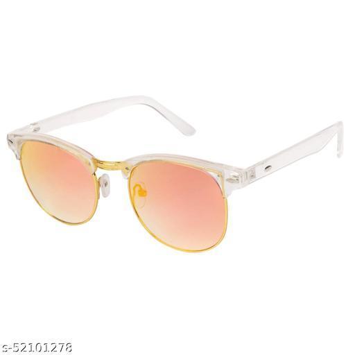 Alfalah Multicolor Clubmaster Metal Sunglasses For Men & Women