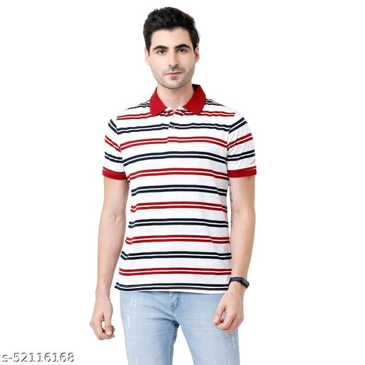Fervoro mens polo neck  tshirts
