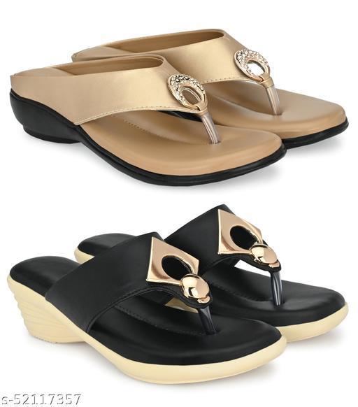 Cklics Women Stylish Sandal Combo