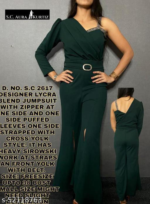 Fancy Ravishing Women Jumpsuits