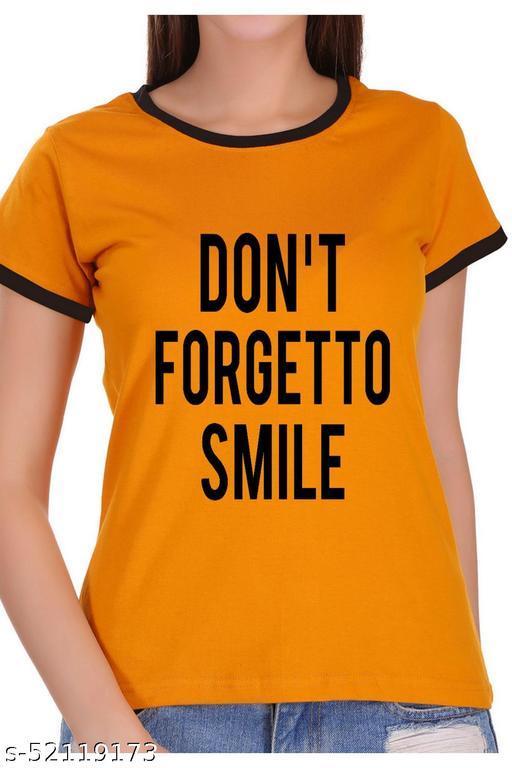 ItkiUtki Don't forget Ringer Printed T-shirt