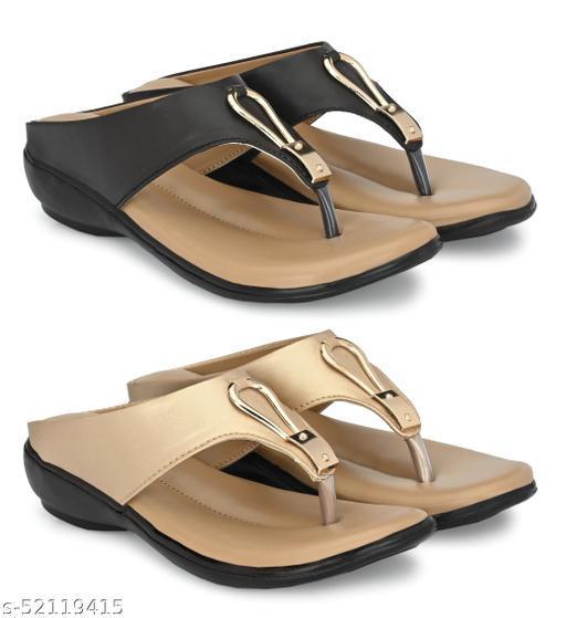Cklics Woman Stylish Sandal Combo