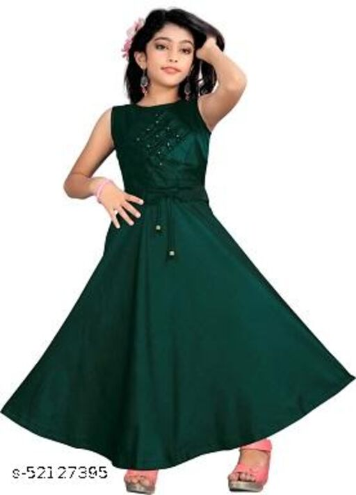 Latest New Design Fancy Gown
