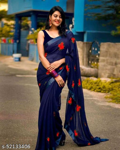 Aarushi Stunning Georgette Saree