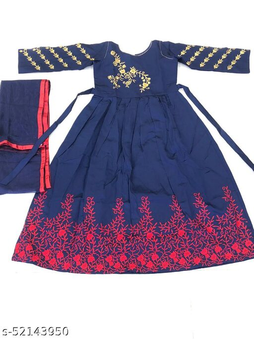 Fancy Girls Ethnic Gowns