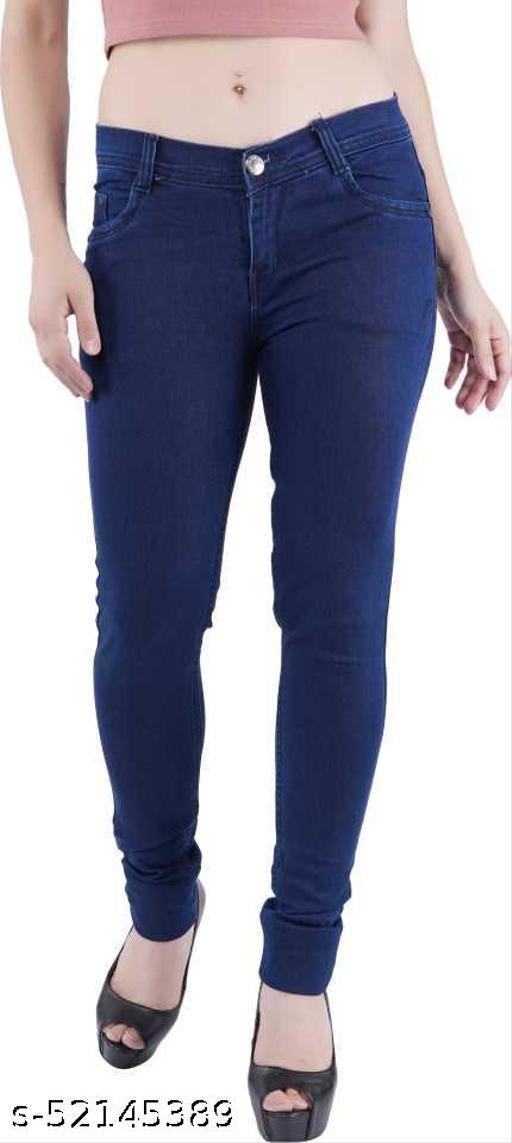 Stylish Feminine Women Jeans