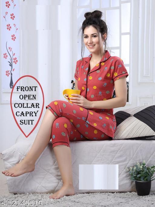 Inaaya Attractive Women Nightsuits