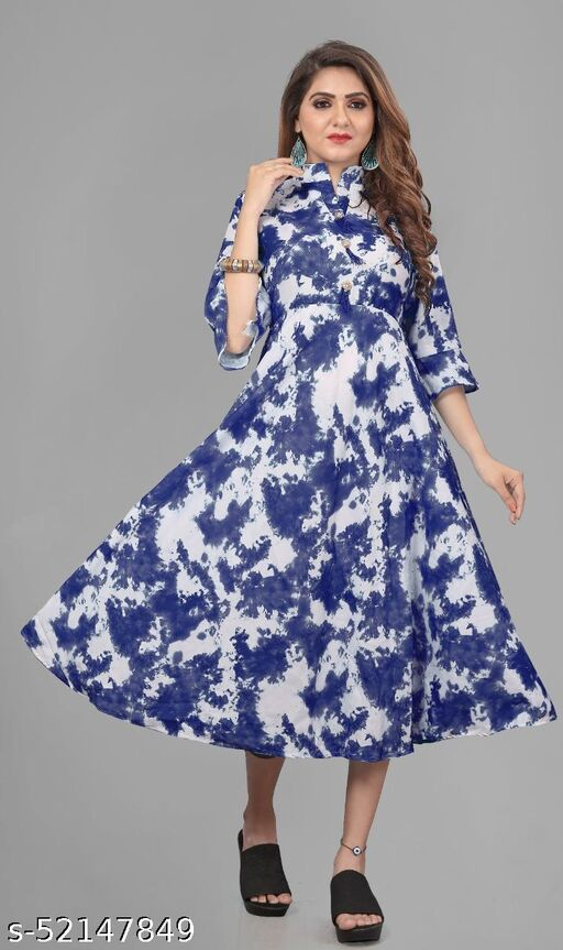 HOT AND TRENDY DYE ONE PIECE GOWN