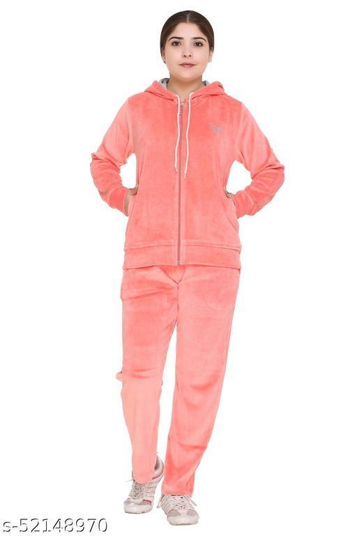 CUPID  Women Winter Wear Cotton Velvet Track Suit