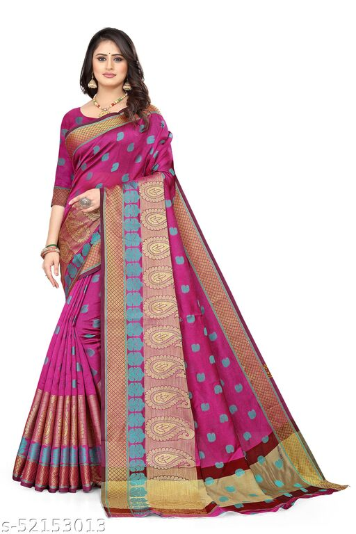 Kota silk Weaving Saree with Blouse