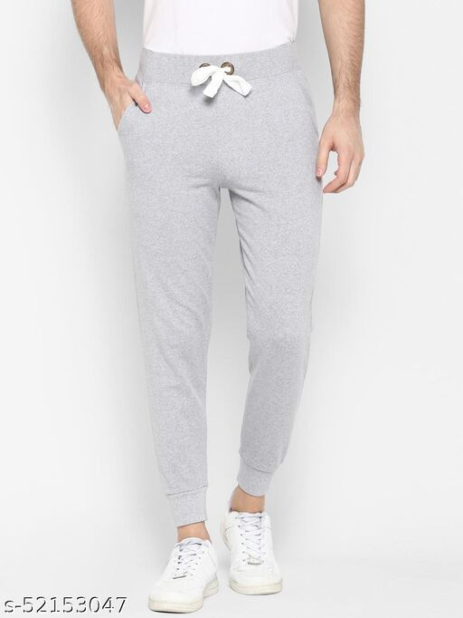 SHARKTRIBE Solid Men Grey Track Pants