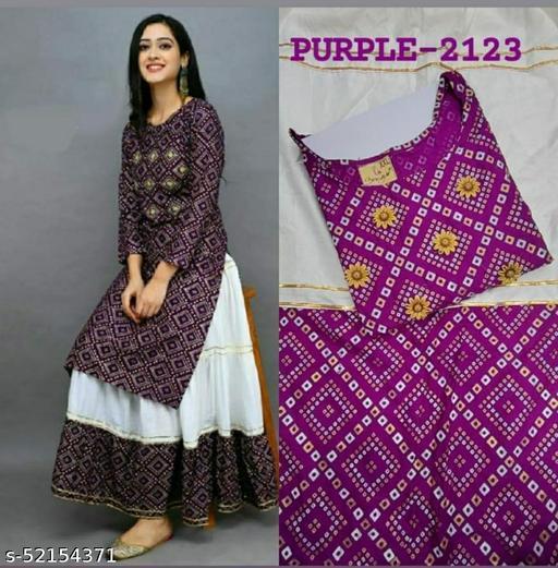 Womens wear Kuris and Skirts (stitched)
