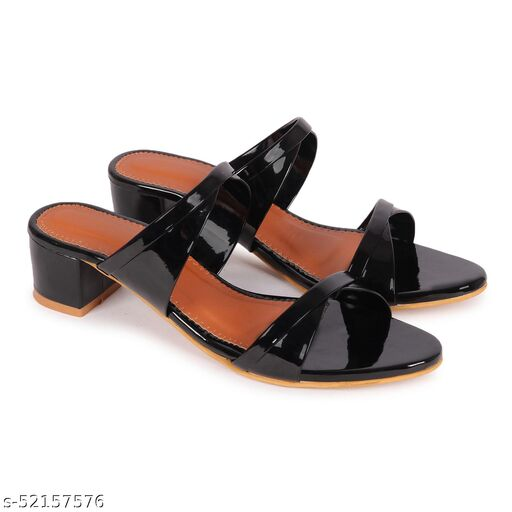 FASHIMO Women's/ Girls  Fashion sandal's B3-Black
