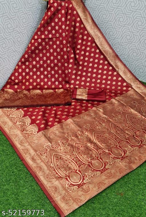 Ganga kanjivaram silk saree with zari blouse