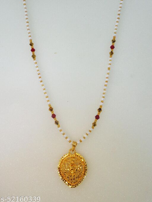 Shimmering Bejeweled Necklace & chains