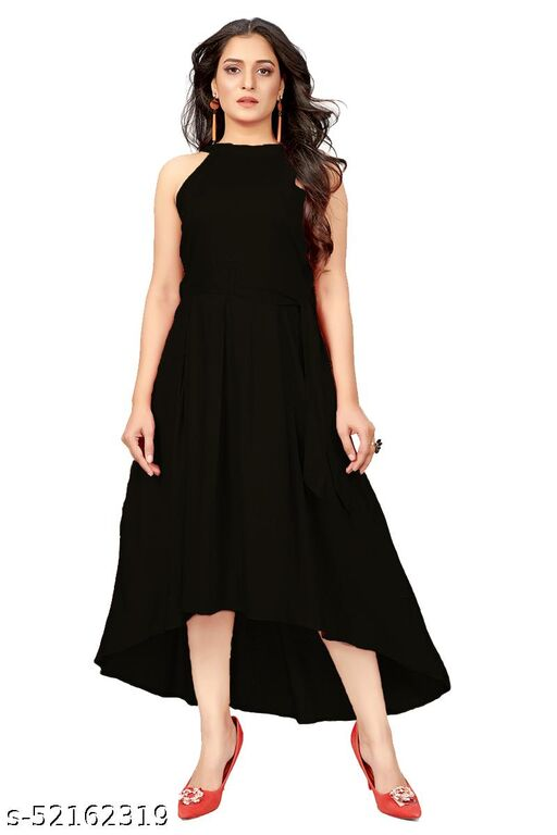 Ritsila Women's Fit And Flare Fancy Western Cotton Up &Down Dress