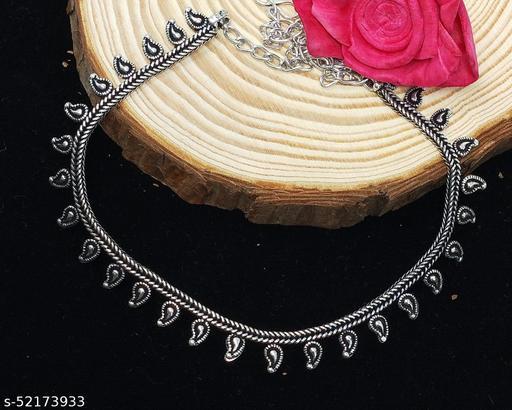 Germsn Silver Designer Necklace For Women/Girl