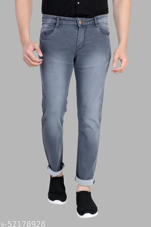 Grey Jeans For Men Latest