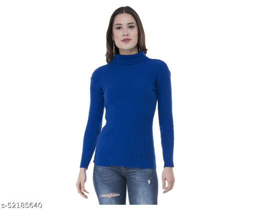 IndiStar Womens Wollen Warm High Neck/Skivvy for Winter (Pack of 1)