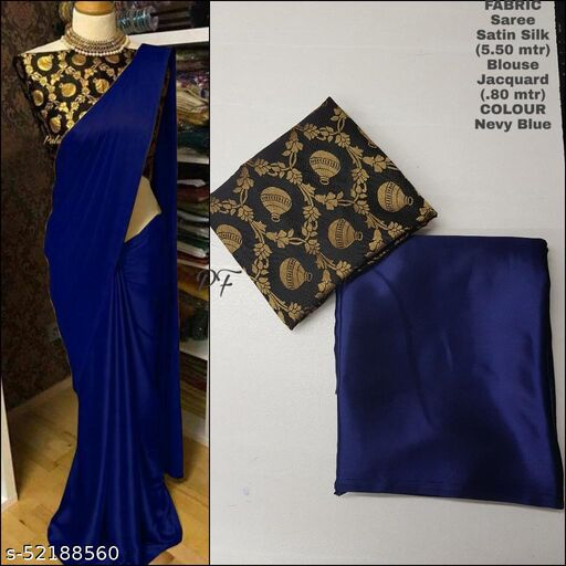 SALE LOWEST PRICE FOR YOU SILK SAREE WITH JACQUARD BLOUSE