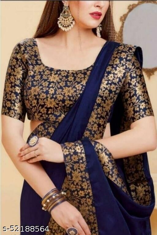 SALE LOWEST PRICE FOR YOU GEORGET HEAVY BORDER WORK SAREE WITH JACQUARD BLOSUE