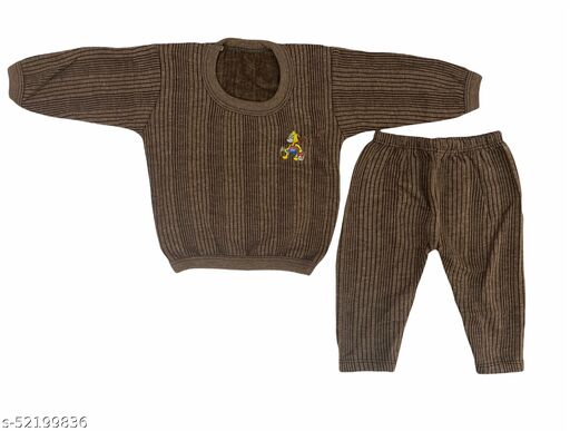 Baby Boys and Baby Girls Super Warm Thermal Innerwear Set for Winters ( SOFT and COMFORTABLE )