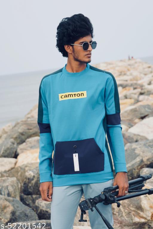 Trendy Partywear Men Sweatshirts